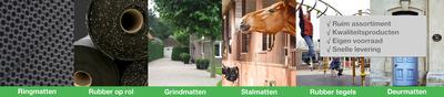 Op zoek naar hoogwaardige rubbermatten? Kom naar rubbermatten24.nl